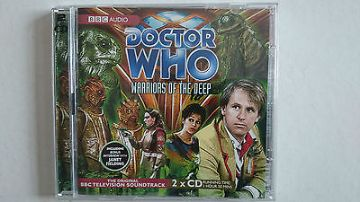 Doctor Who Warriors of the Deep CD Audio Soundtrack Peter Davidson